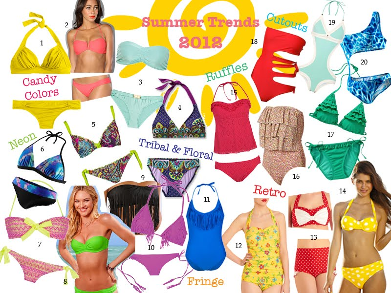 Summer Swimsuit Trends 2012