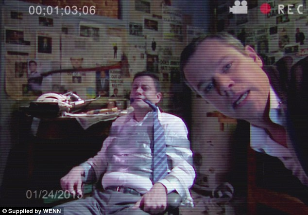 Matt Damon hijacks Jimmy Kimmel and takes over his late night show last Thursday, January 24th. Image via WENN.