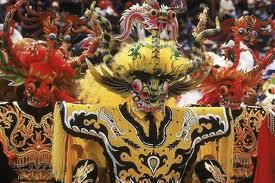 Carnival de la Virgen de Calendaria en Puno