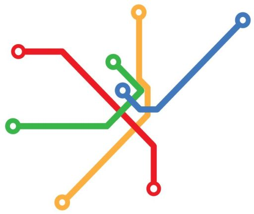 Boston Art Underground's MBTA diagram. Image via BAU/Facebook