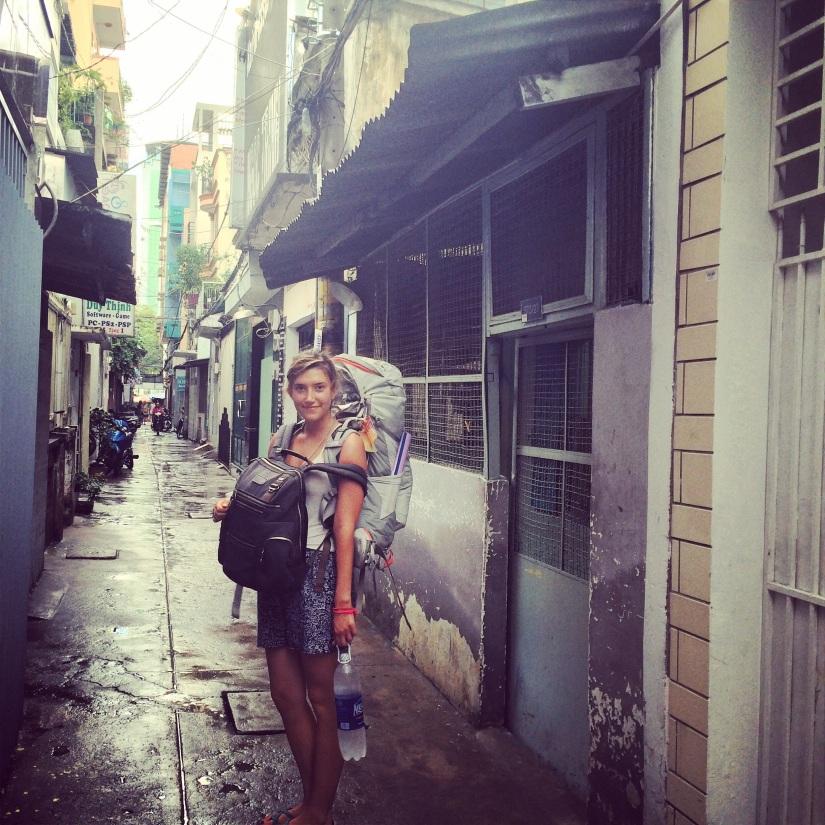 Hayley in Vietnam