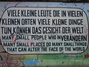 Self Discoveries at the BerlinWall