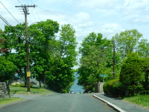Side street in Nahant.