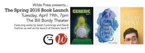 Pub Club's Spring 2016 BookLaunch