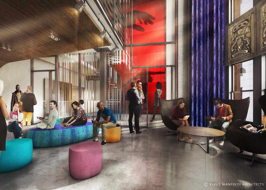 Inside Emerson S New Dorm Building Atlas